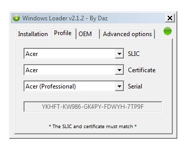 Windows(Activator Patch) Loader v2 1 2 [32bit & 64bit]  